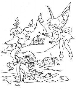 Disney Fairies Coloring Pages to Print