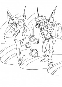 Disney Fairies Free Coloring Pages