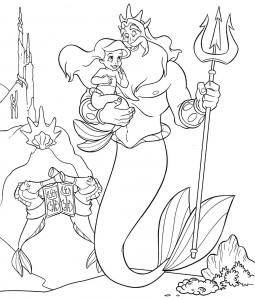 Disney Little Mermaid Coloring Sheets