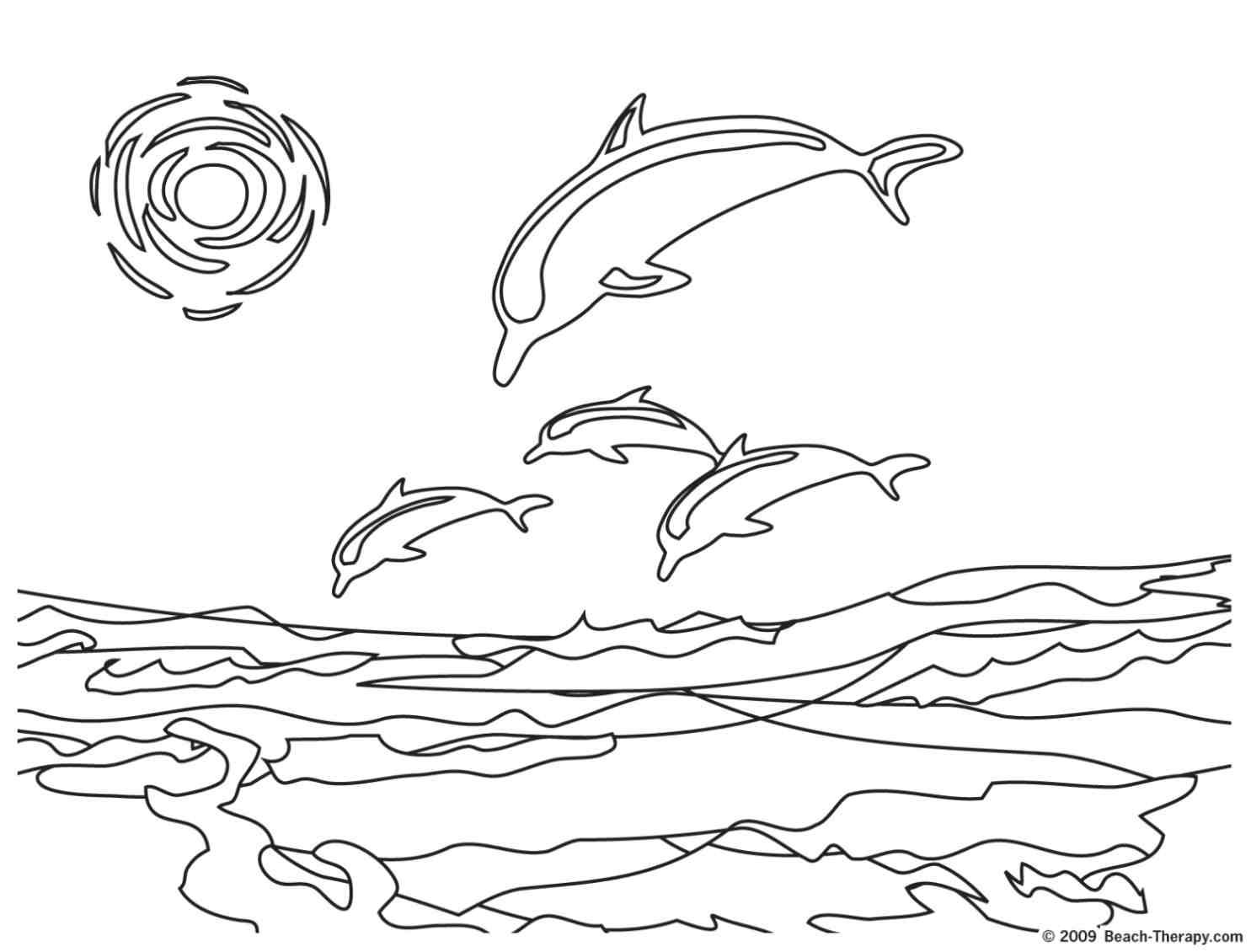 dolfin coloring pages - photo#33