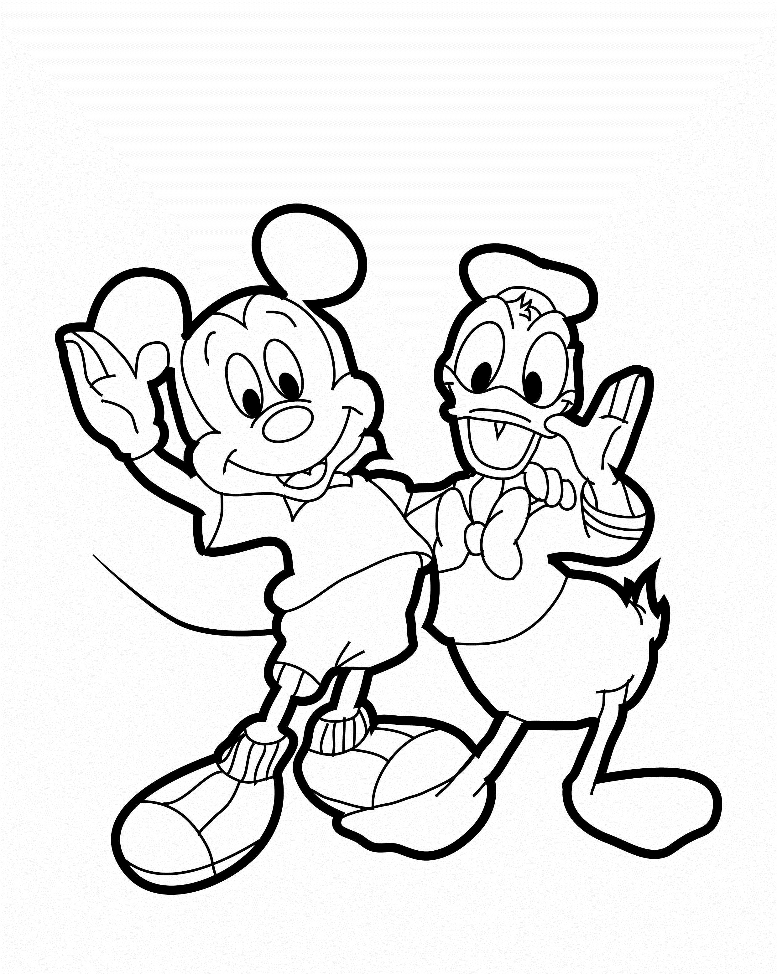Coloring games donald duck - Donald Duck Coloring Sheets