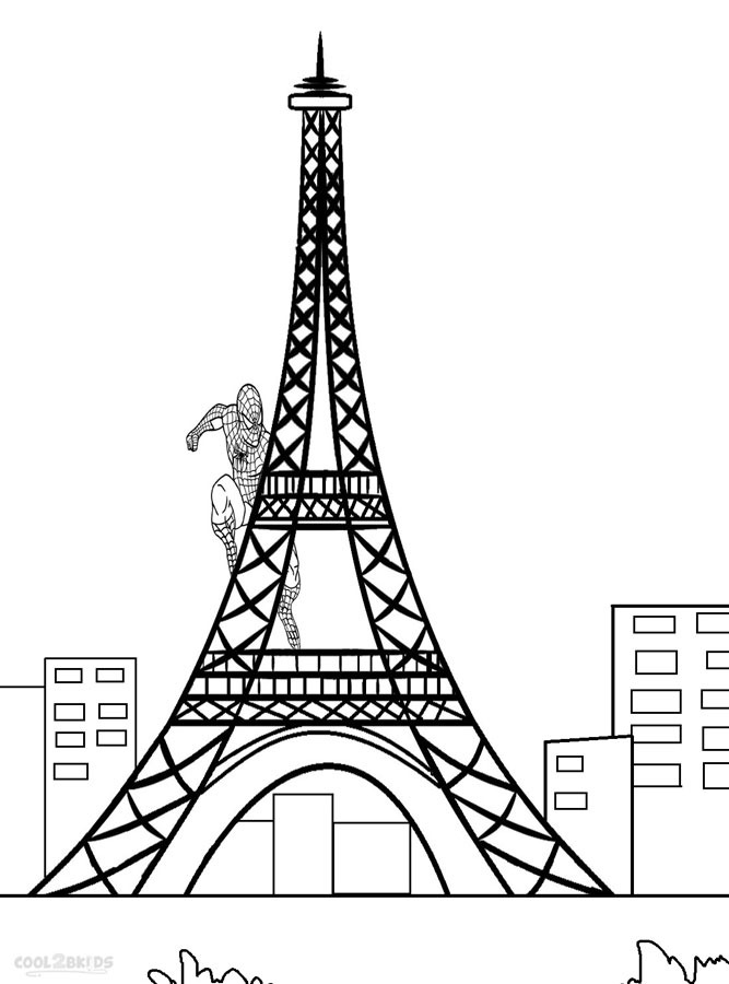 Free Big Ben Clock Tower Coloring Pages