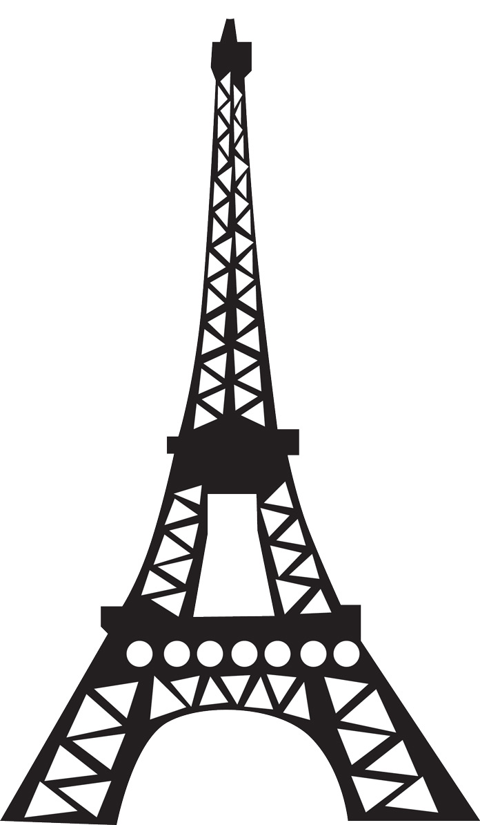 Divine image for eiffel tower printable