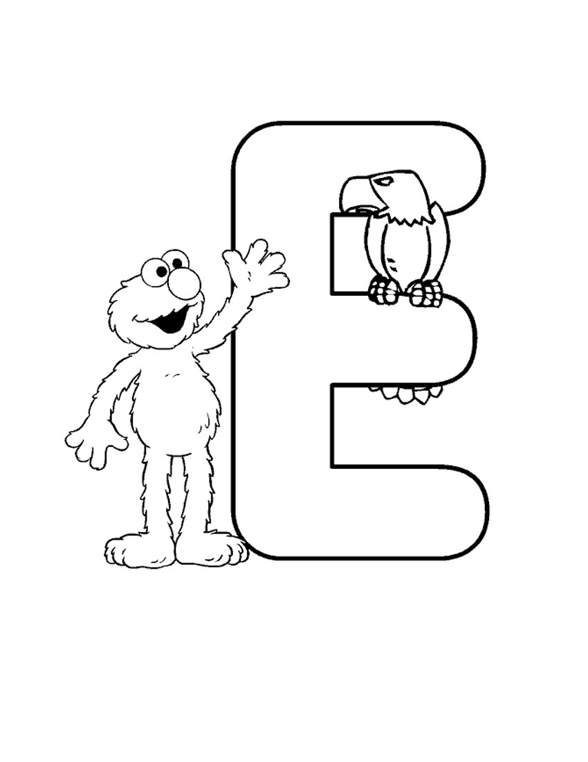 Free coloring pages elmo - Elmo Free Coloring Pages