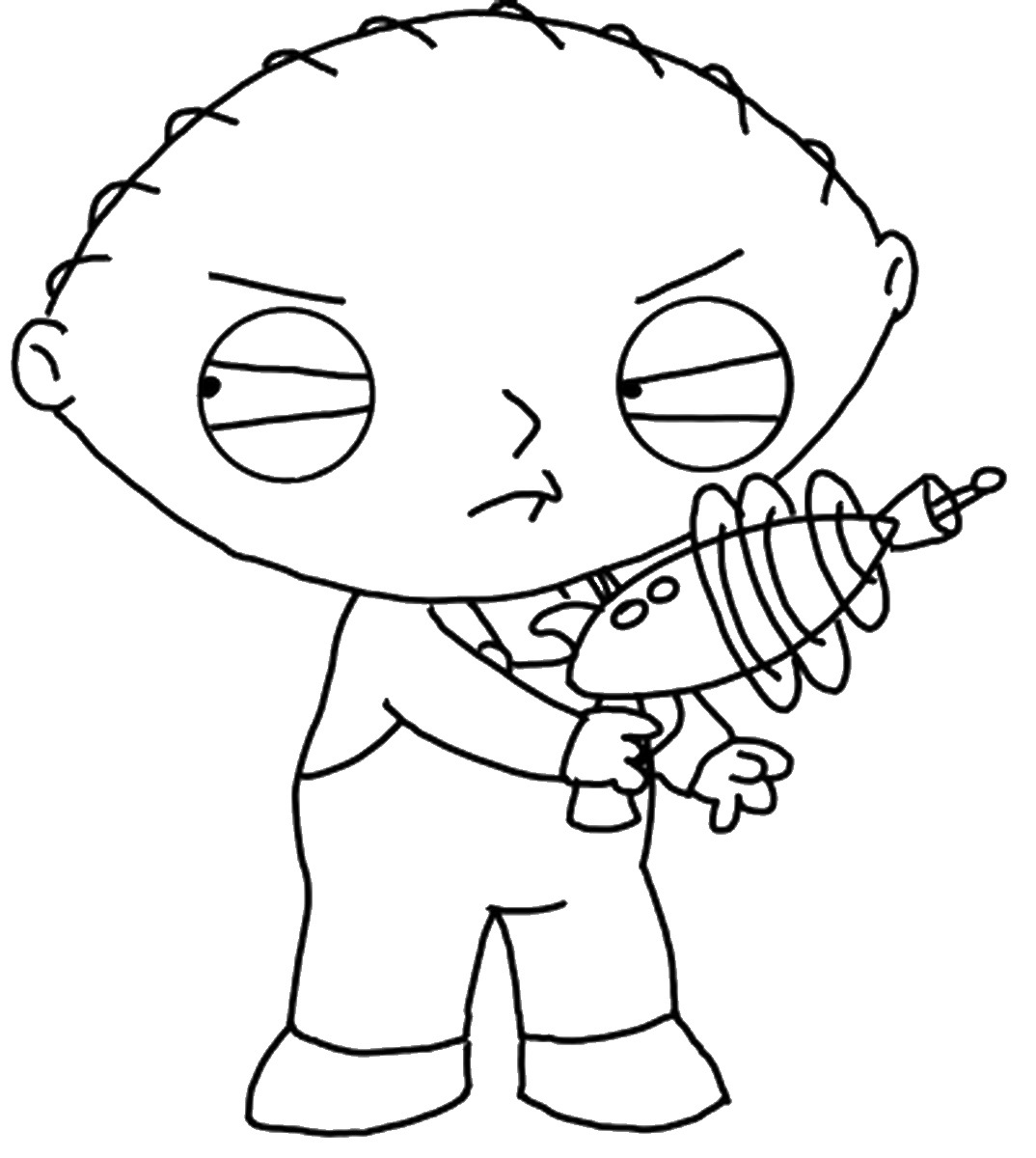 Family Guy Brian Coloring Pages Family Guy Printable Coloring