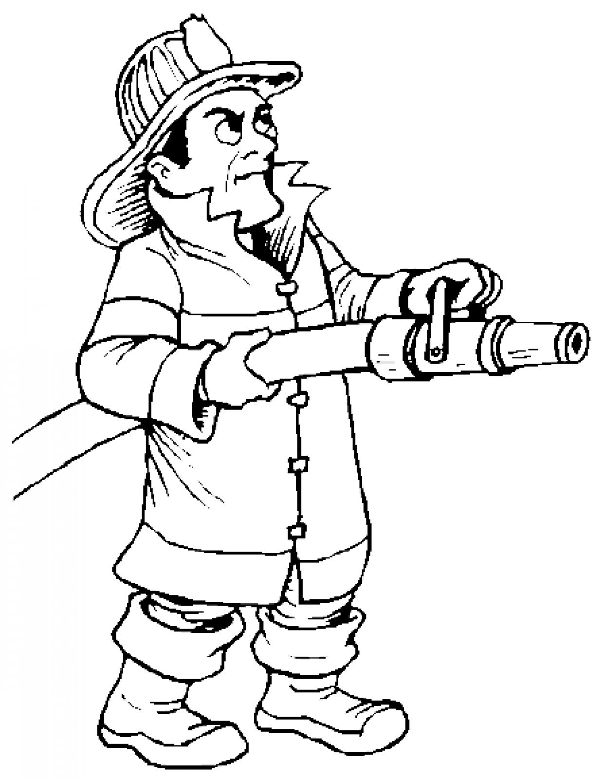 fire man coloring pages - photo#15