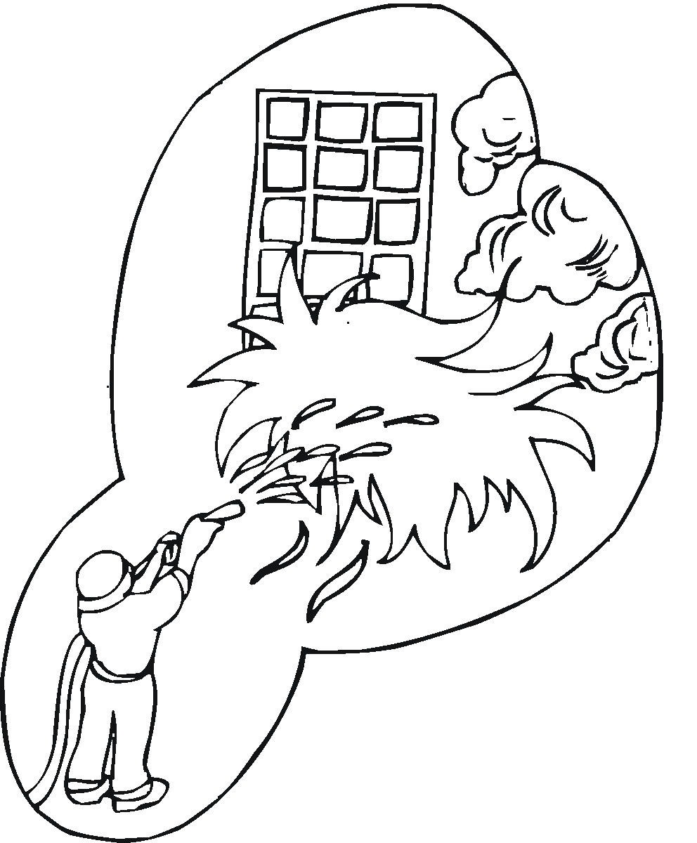 firefighter coloring page related firefighter coloring pages item