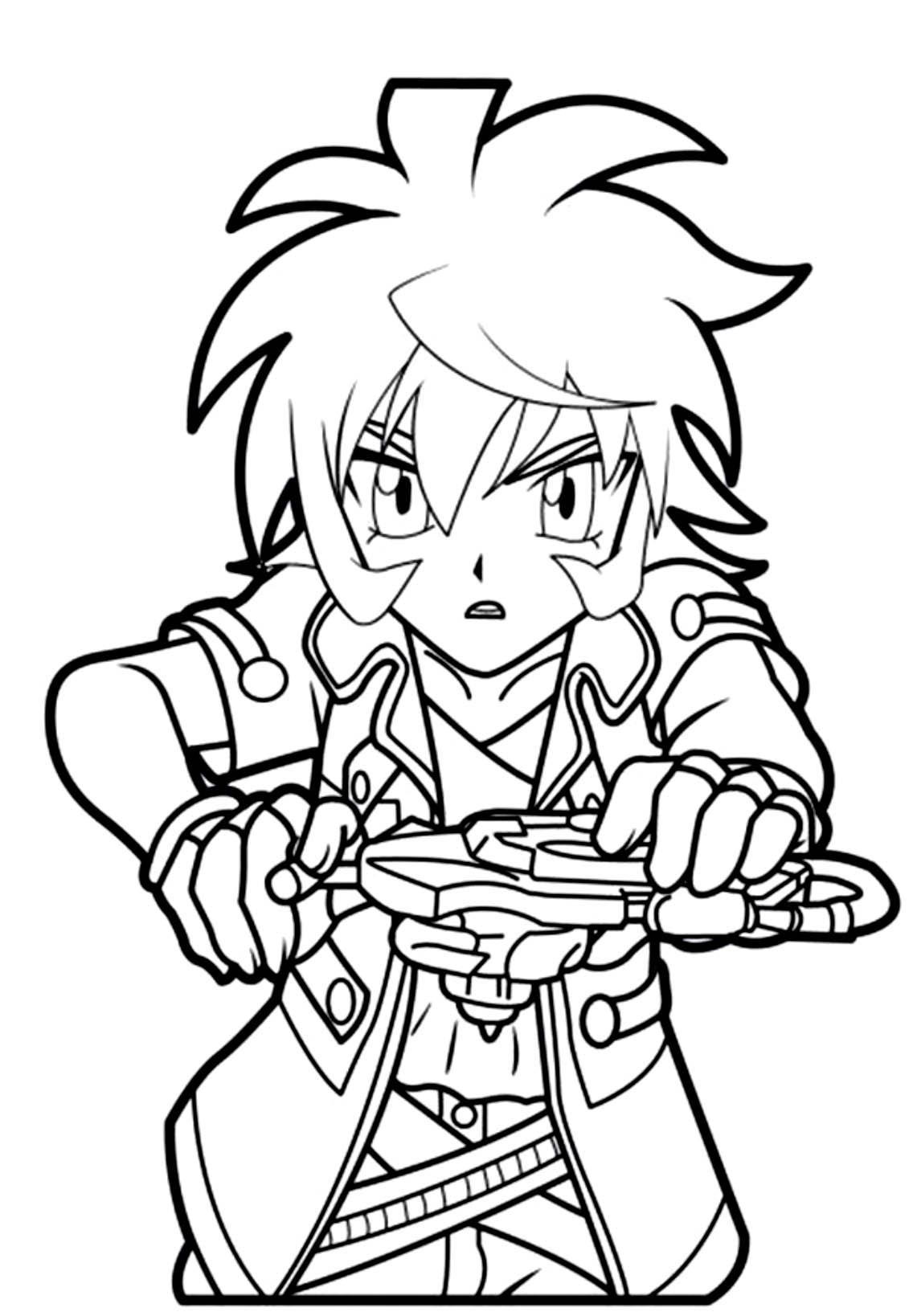 Printable Beyblade Coloring Pages Coloringme Com