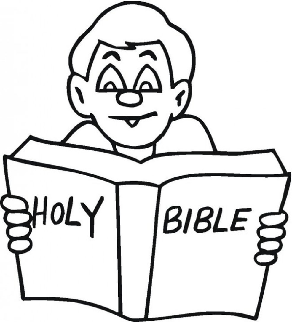 free bible coloring book pages - photo#7