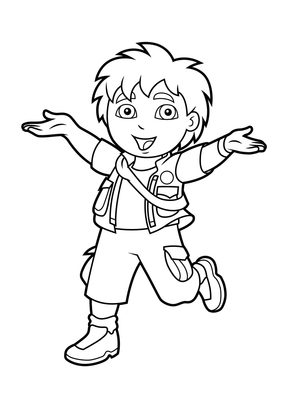 Printable Diego Coloring Pages   ColoringMe.com