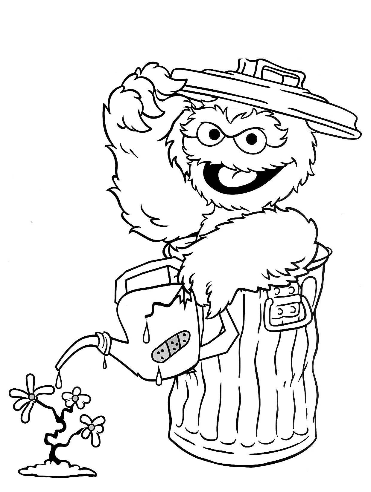 Elmo coloring activities - Elmo Coloring Sheets
