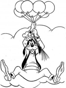 Free Goofy Coloring Pages for Kids