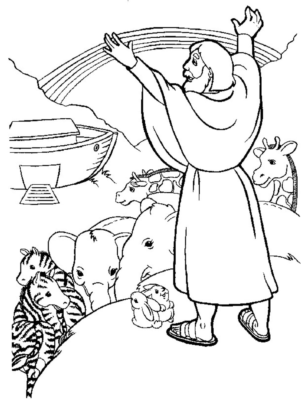 Printable Bible Coloring Pages Coloringme Com