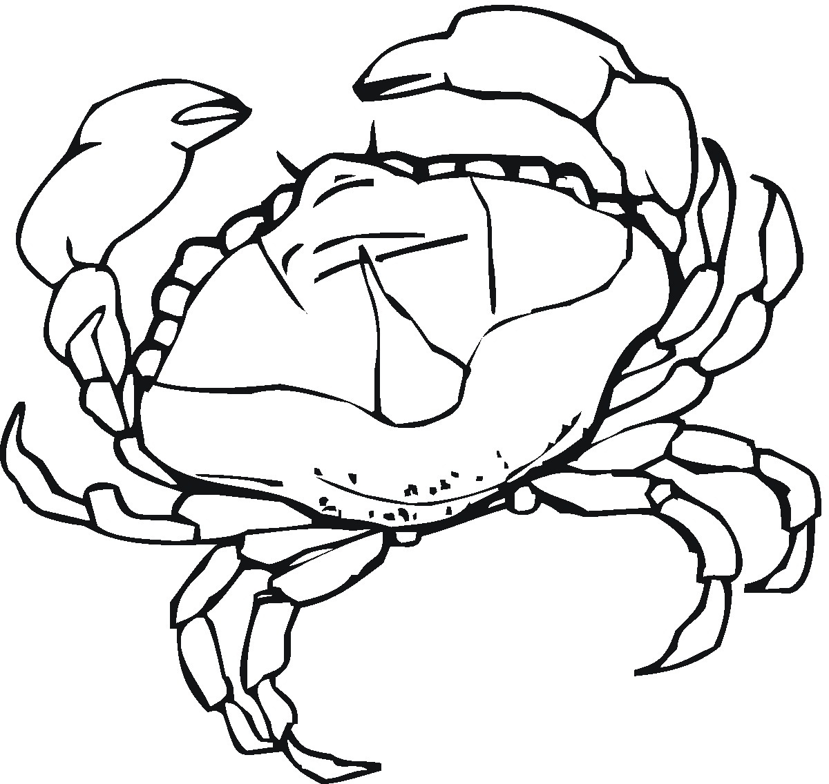 Baby Crab Dora Coloring Pages And