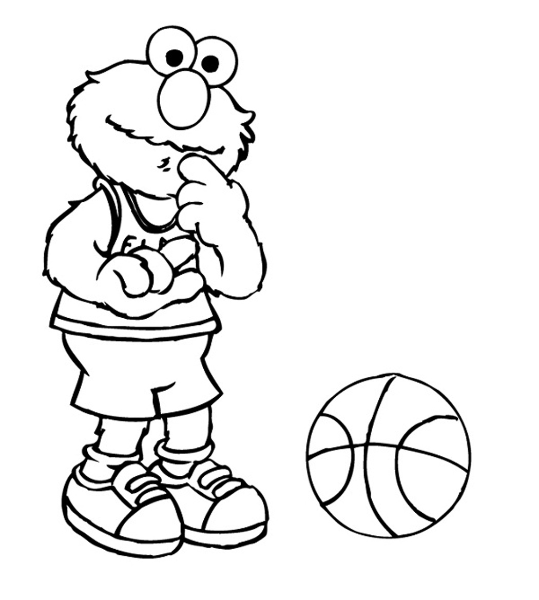 Free Printable Elmo Coloring Pages