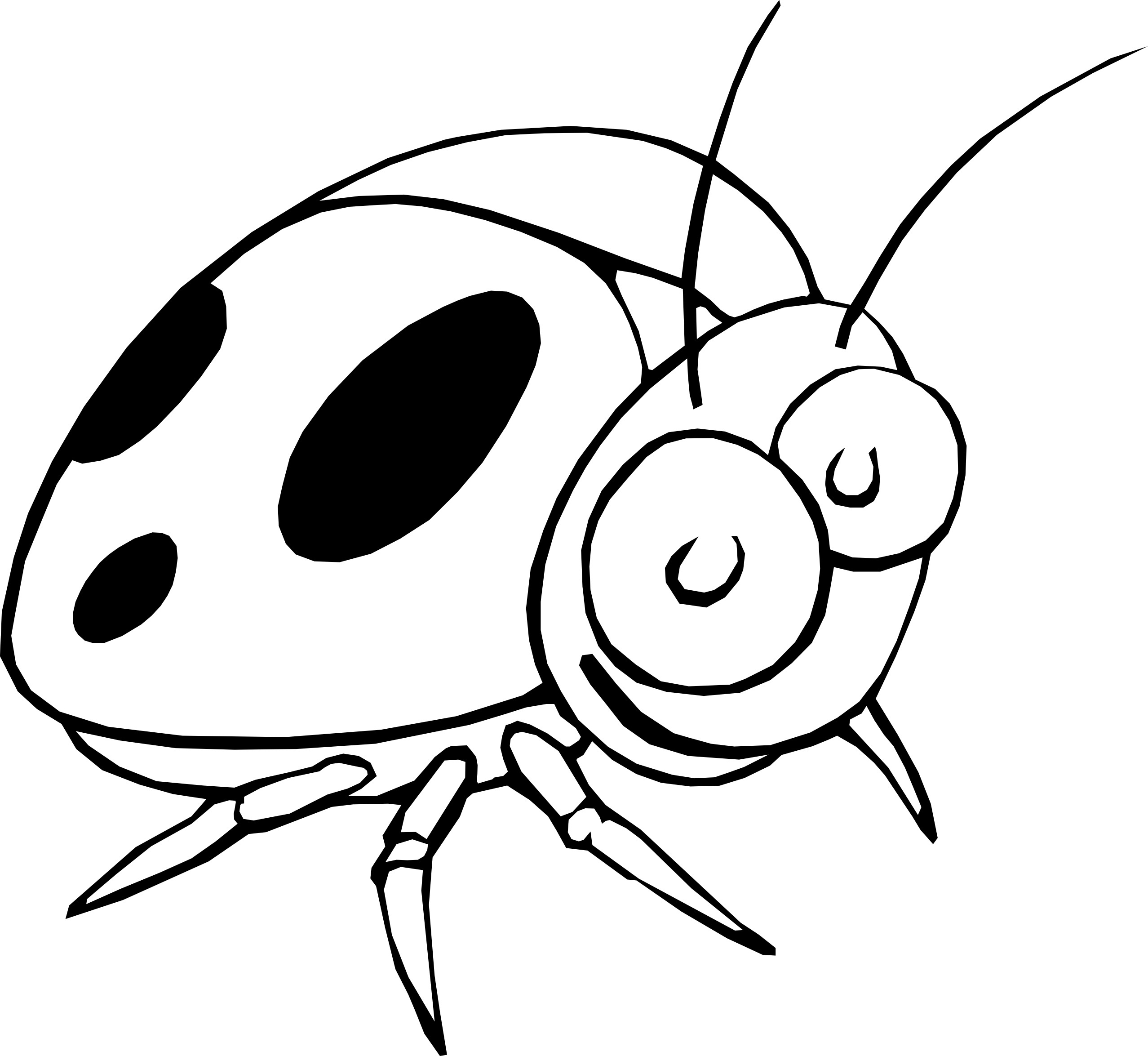 Coloring pages of ladybugs for kids - Printable Ladybug Coloring Pages Me