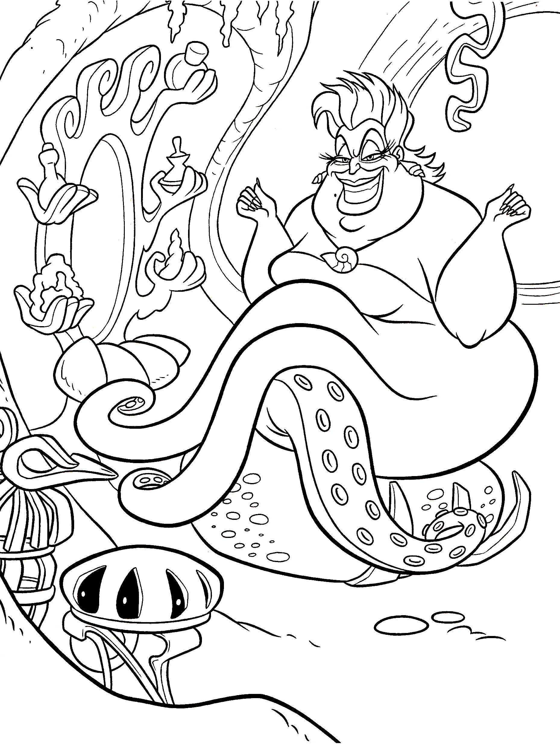 Free Printable Little Mermaid Coloring Sheets