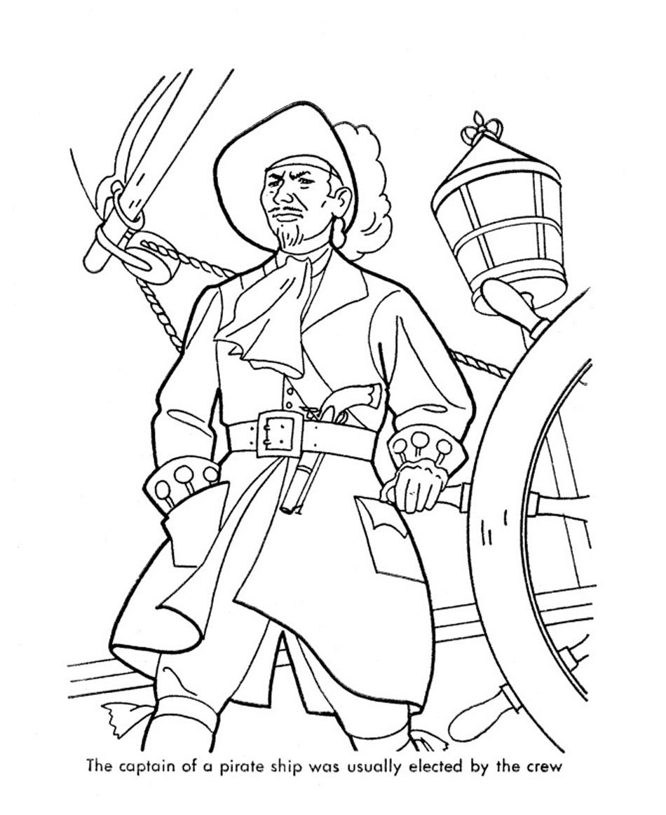 printable pirate coloring pages coloring me
