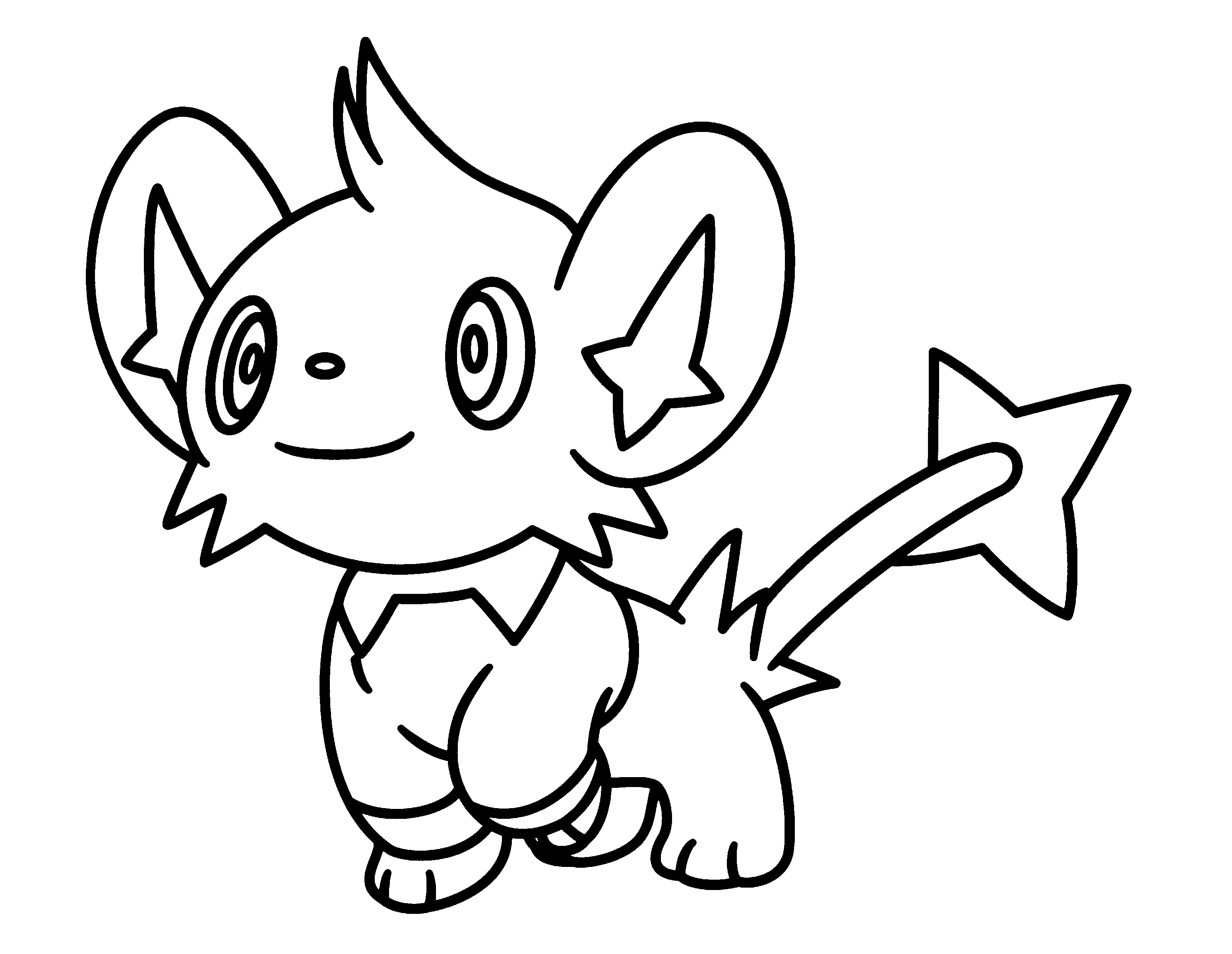 pokemon coloring sheets - Free Printable Pokemon Pictures
