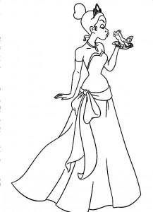 free printable princess tiana coloring pages  coloringme