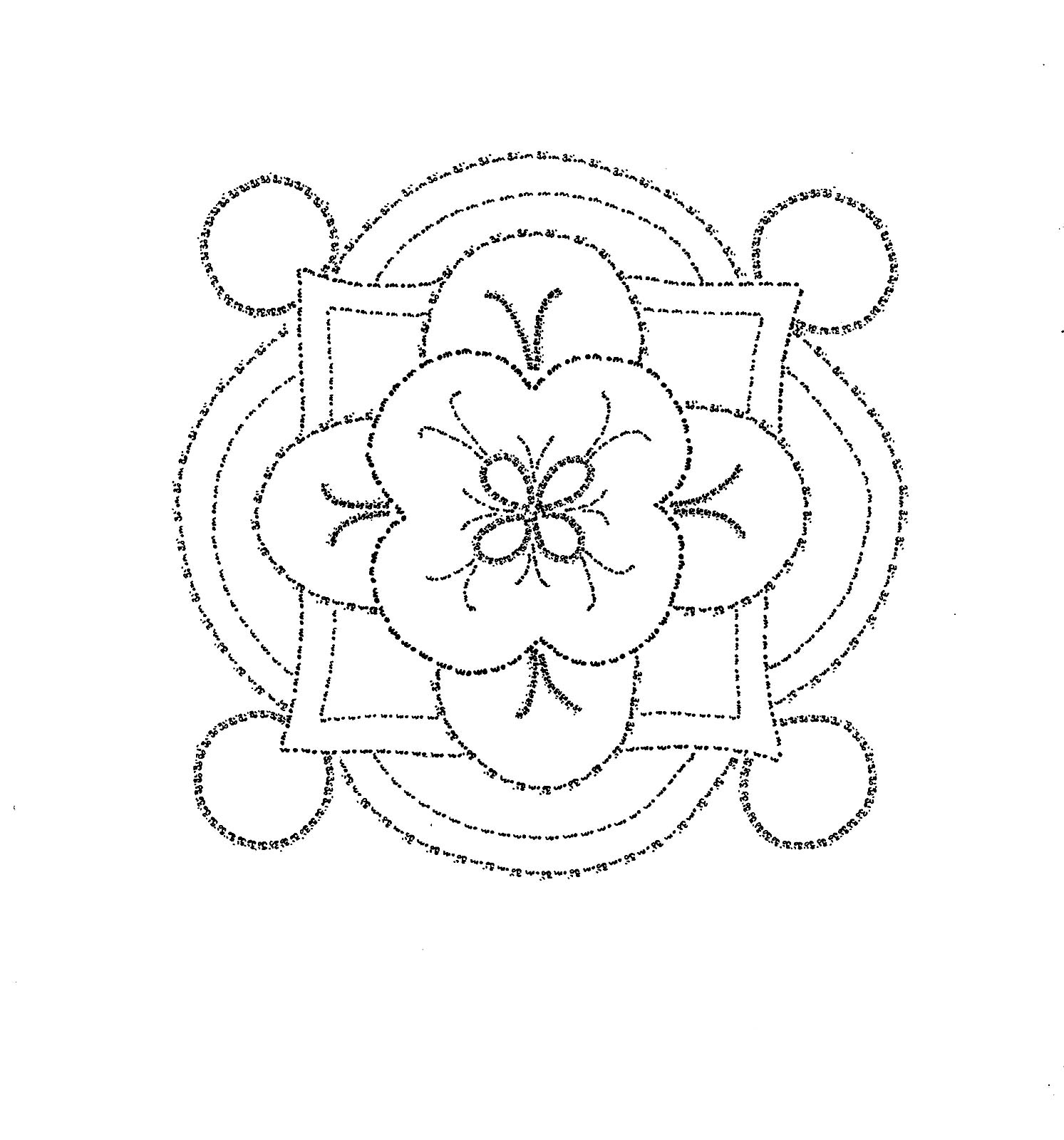 Free Printable Rangoli Coloring Pages For Your Little One | 1600x1493