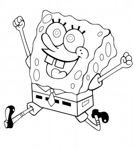 Free Spongebob Squarepants Coloring Pages to Print
