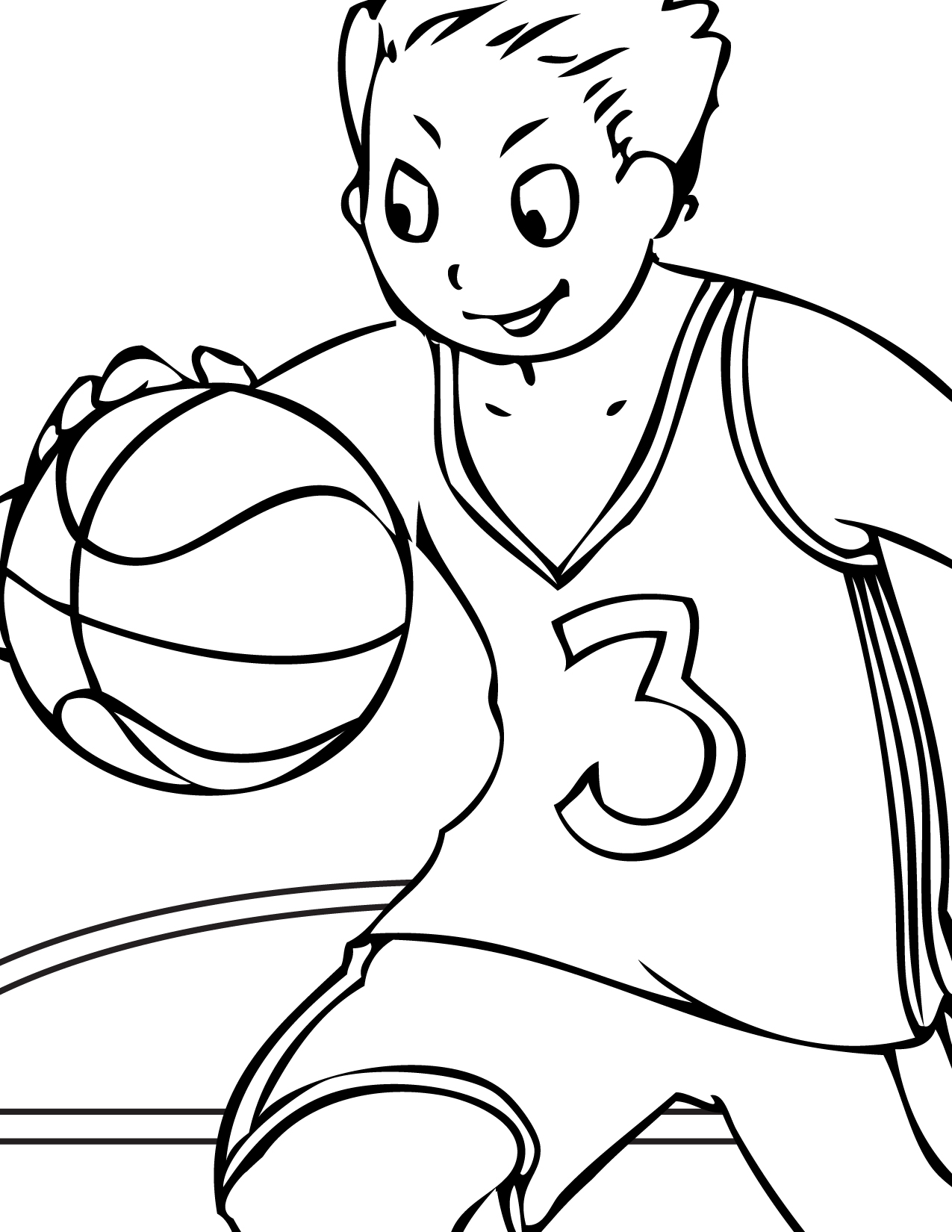 sports coloring pages for kid - photo#6
