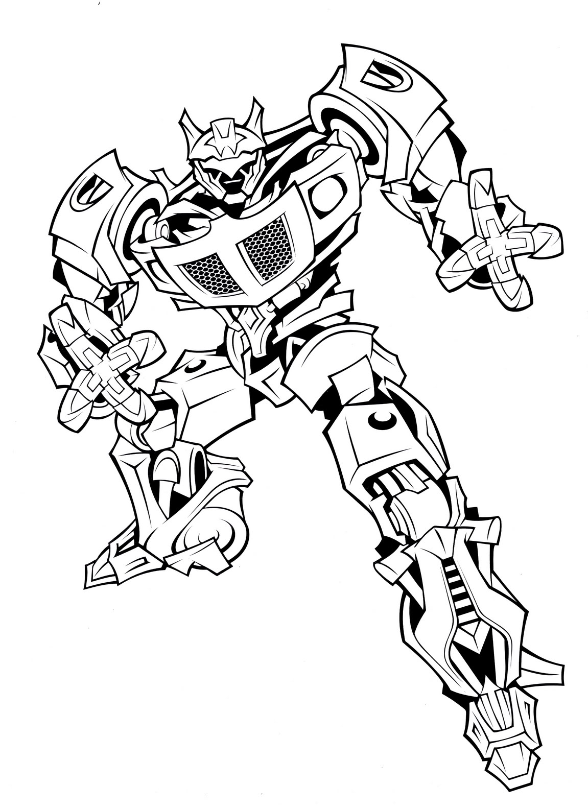 Free Coloring Pages Of Transformers Autobots