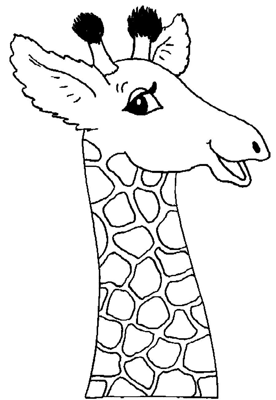 Free Coloring Pages Of Baby Giraffe Baby Giraffe Coloring Pages