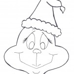 grinch coloring pages for kids - Grinch Coloring Pages