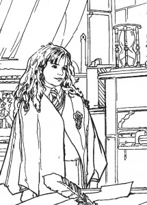 Harry Potter Coloring Pages to Print