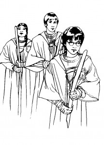 Harry Potter Printable Colouring Sheets