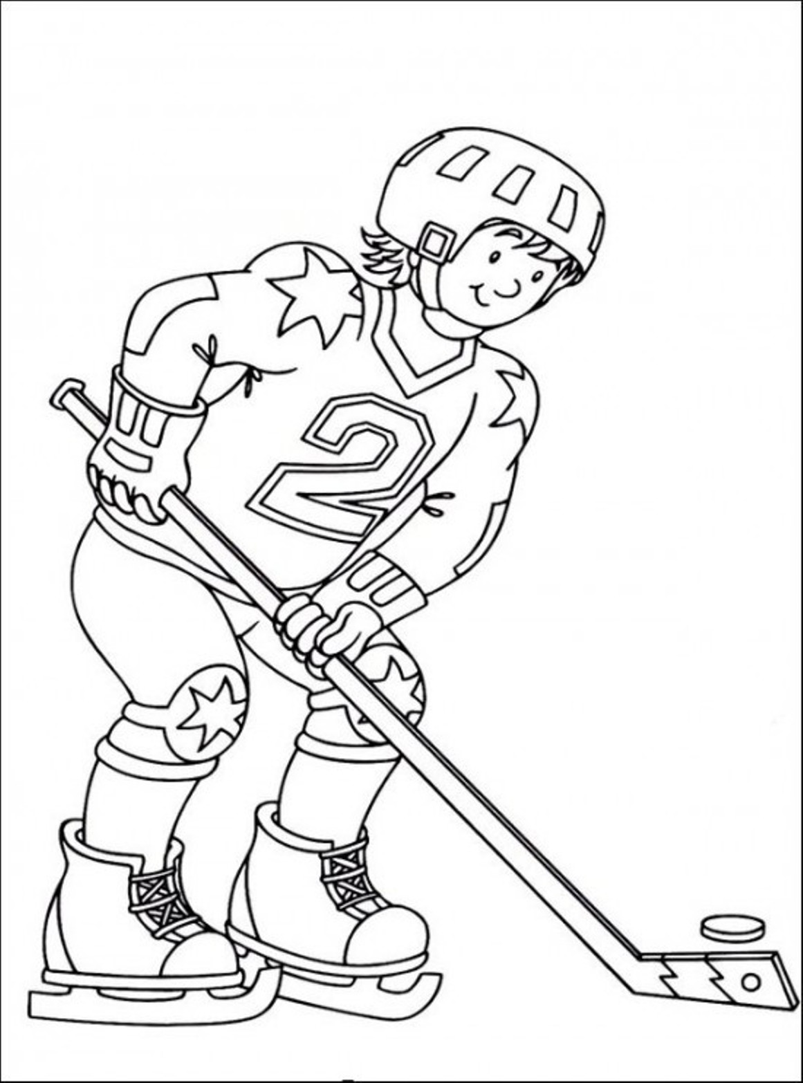Hockey printable coloring pages for Hockey coloring pages printable