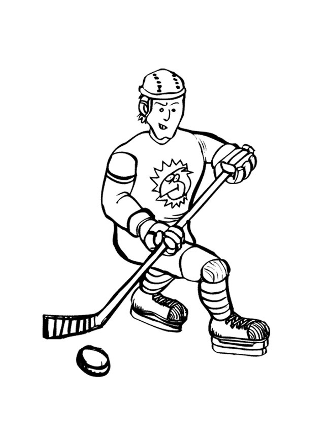Coloring Pages Printable Hockey Coloring Pages printable hockey coloring pages me sheets