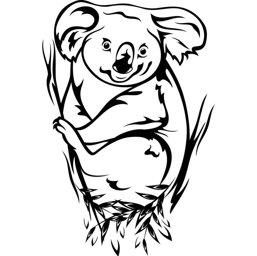 koala coloring sheets