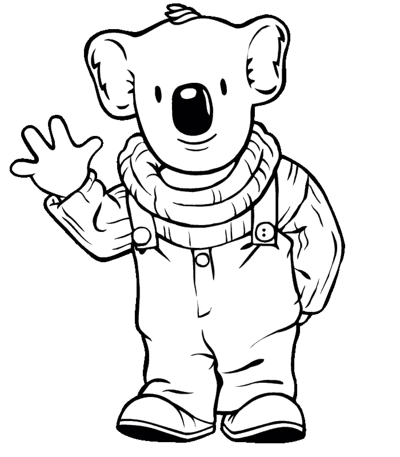 Koala Coloring Pages To Print
