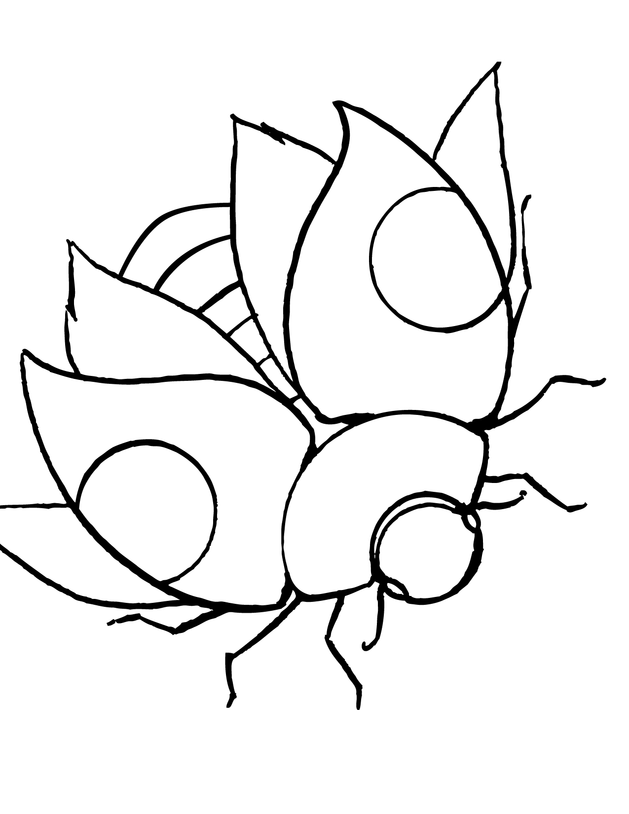 Printable Ladybug Coloring Pages | Coloring Me