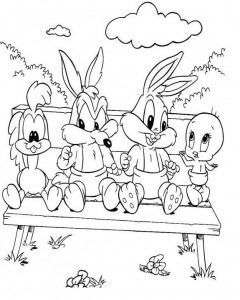 Looney Tunes Coloring Sheets