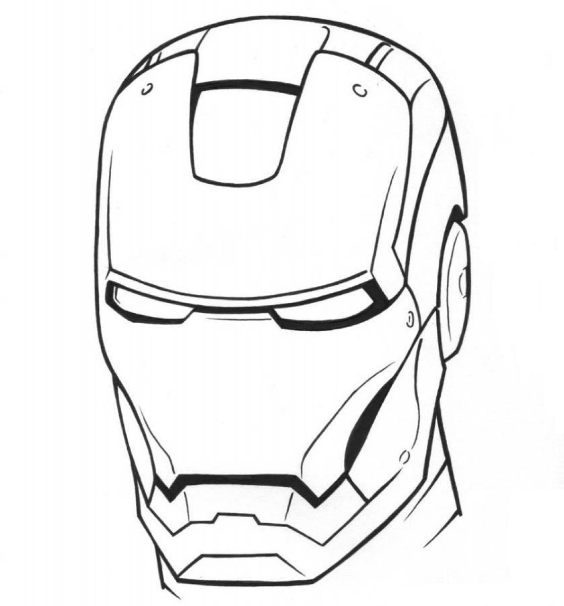 Iron Man Coloring Book Games : Pics photos heroes iron man coloring pages