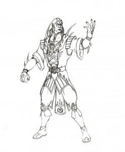 Mortal Kombat Coloring Pages To Print