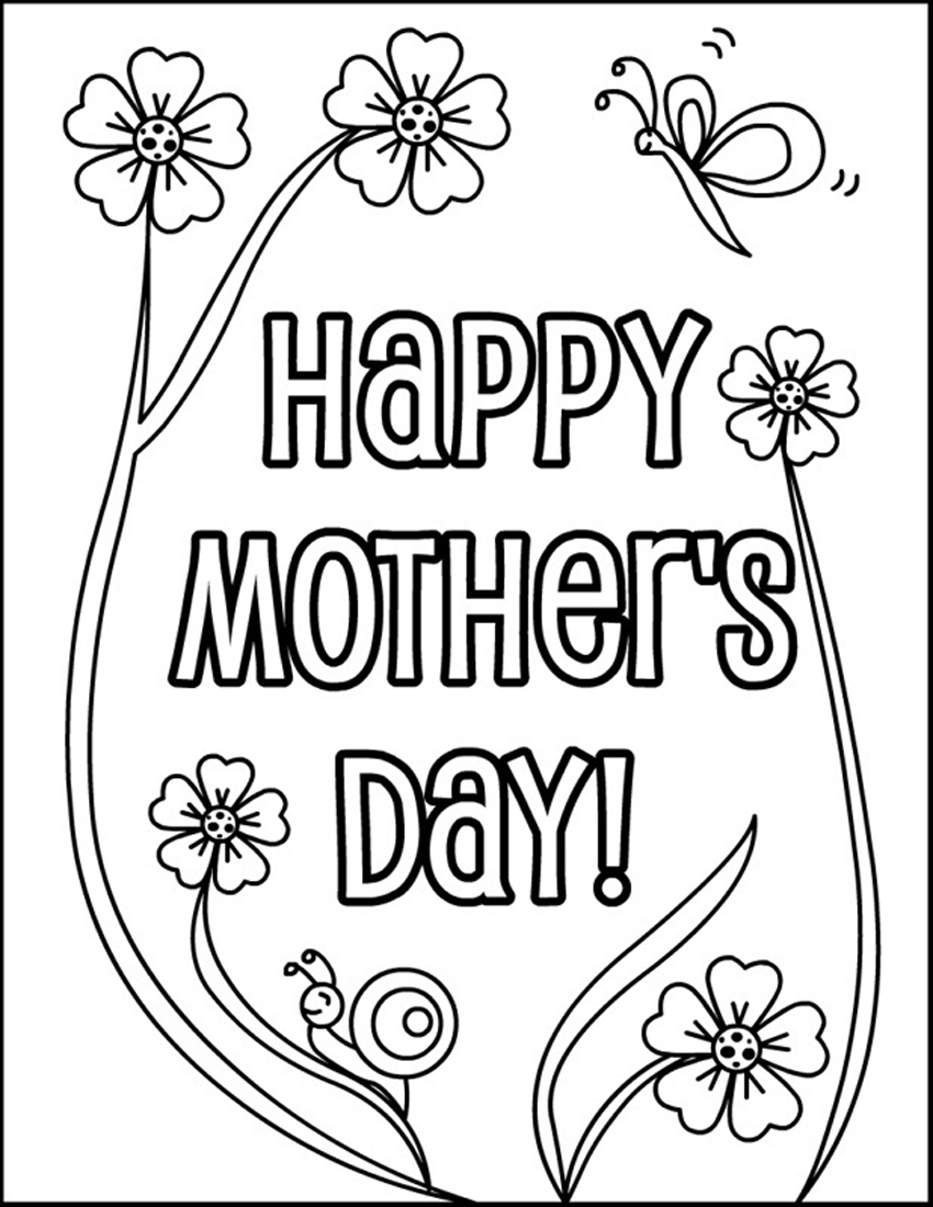 printable mothers day coloring pages coloring me