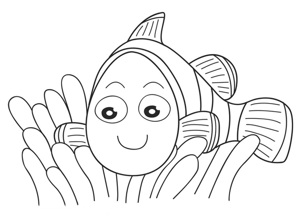nemo coloring pages - photo#24