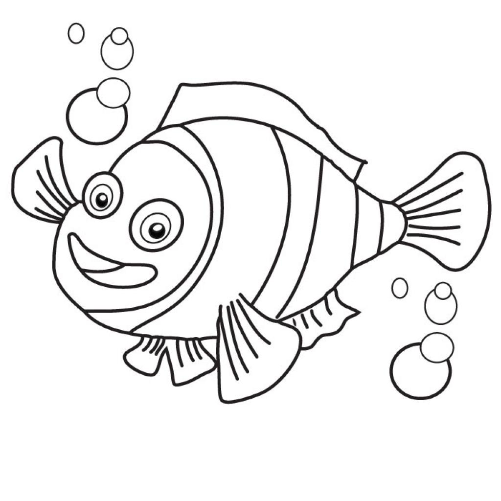 Printable Nemo Coloring Pages | Coloring Me
