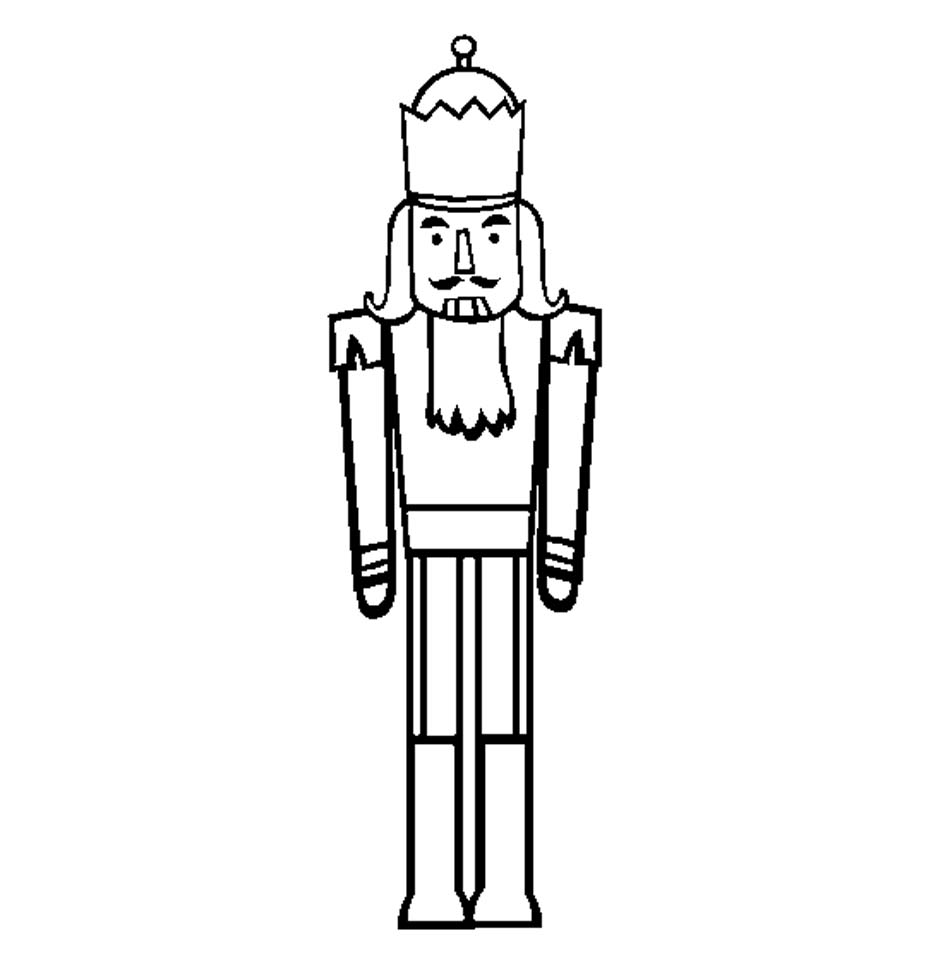 coloring pages of nutcrackers - photo#33