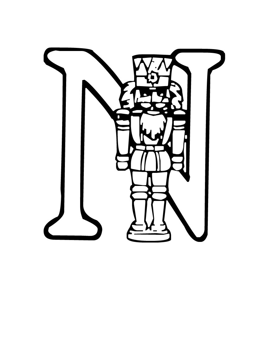 Clip Art The Nutcracker Coloring Pages printable nutcracker coloring pages me for kids