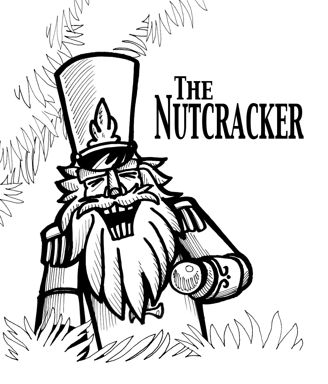 Coloring Pages Barbie Nutcracker : Nutcracker mouse king free colouring pages