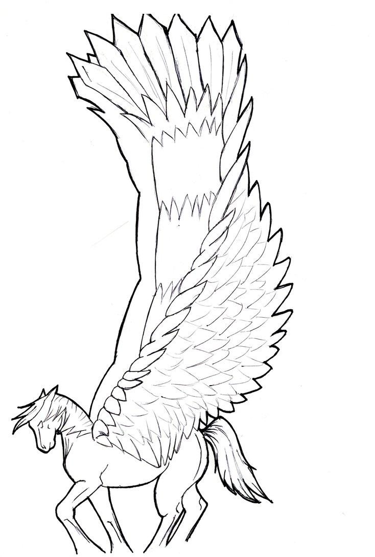 Printable Pegasus Coloring Pages Coloring Me