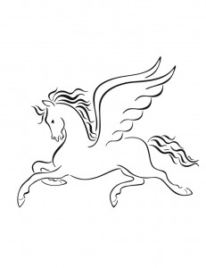 Pegasus Free Coloring Pages