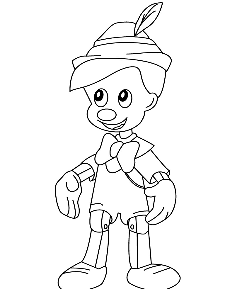 Printable Pinocchio Coloring Pages Coloring Me Pinocchio Coloring Pages
