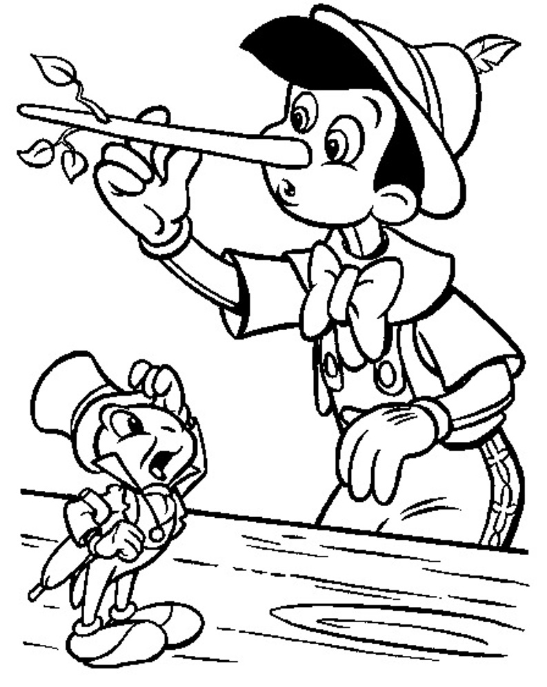 Printable Pinocchio Coloring Pages Coloring Me Printable Colouring Pages